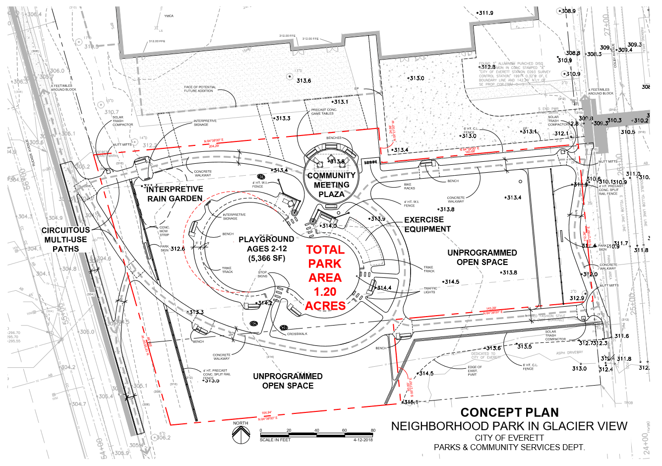 Proposed Park Site Plan