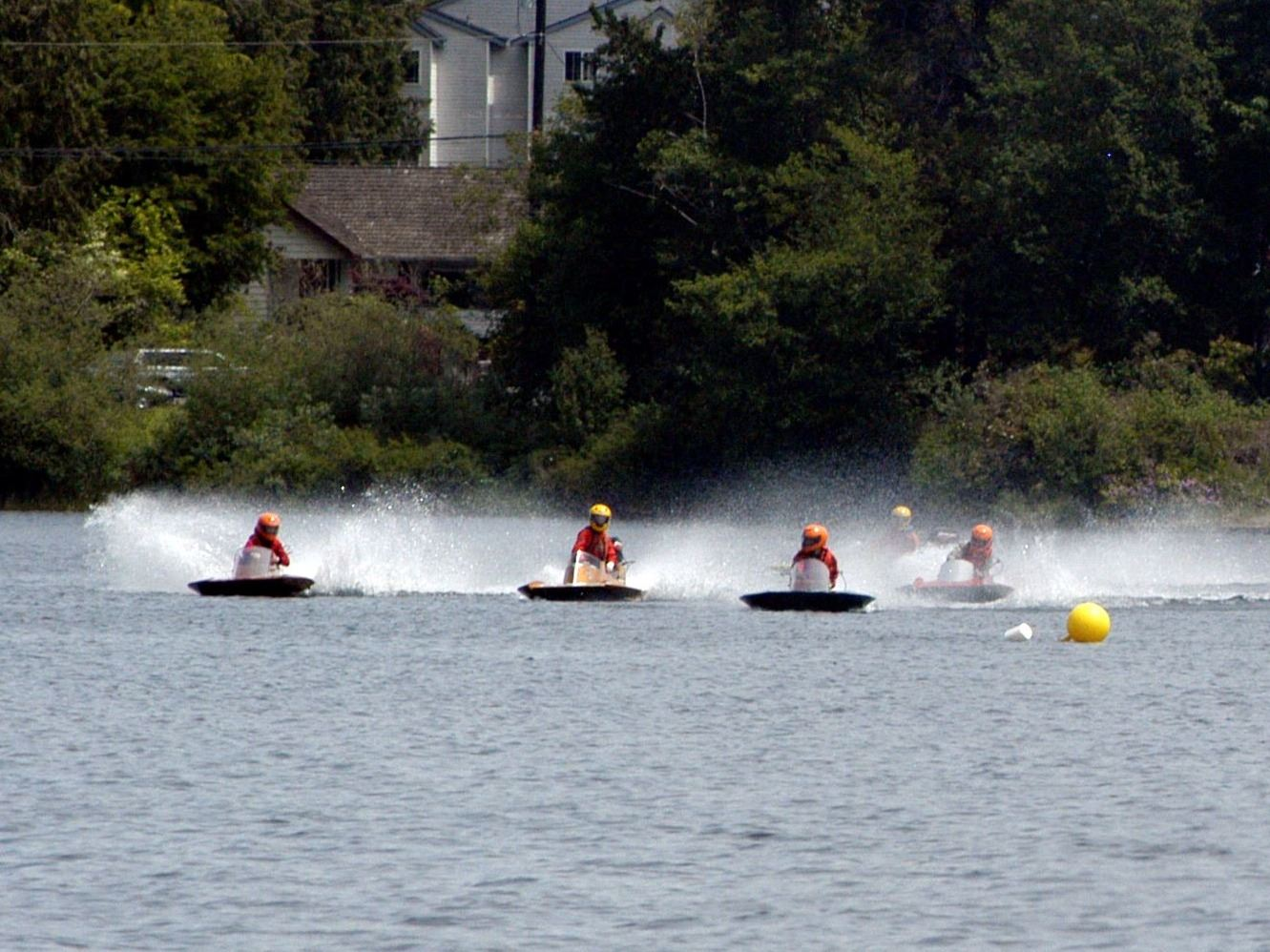 Hydro races at Silver Lake