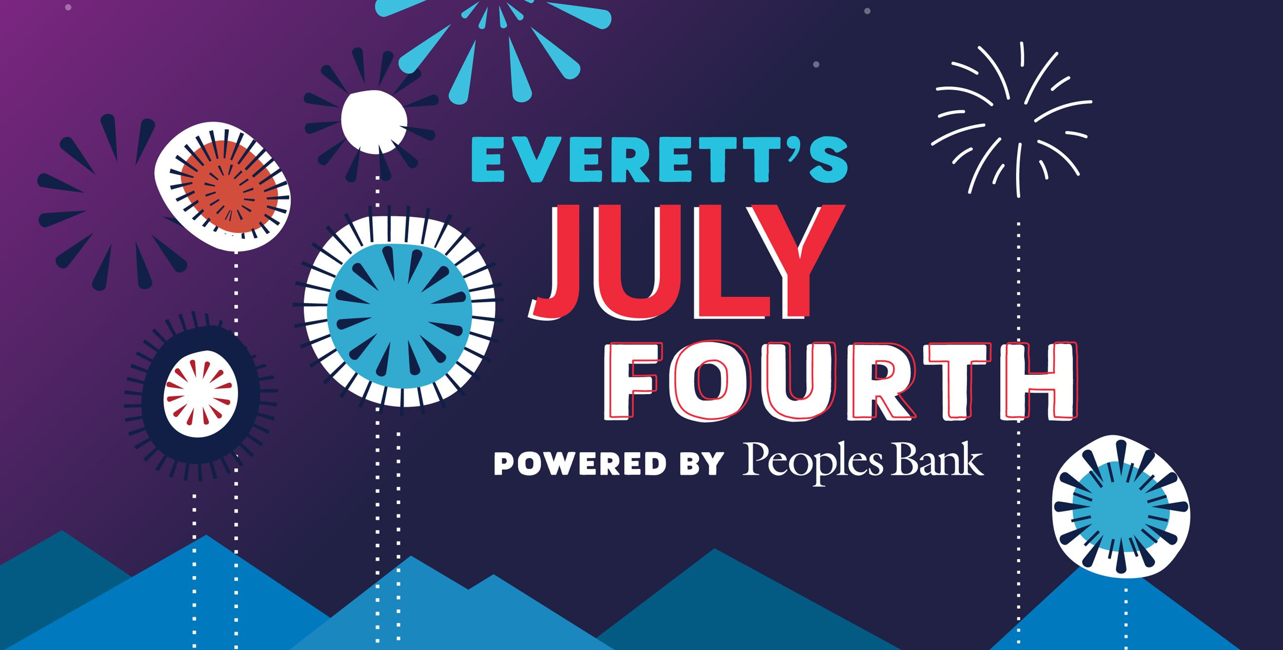 Web banner - Everett's July Fourth powered by Peoples Bank