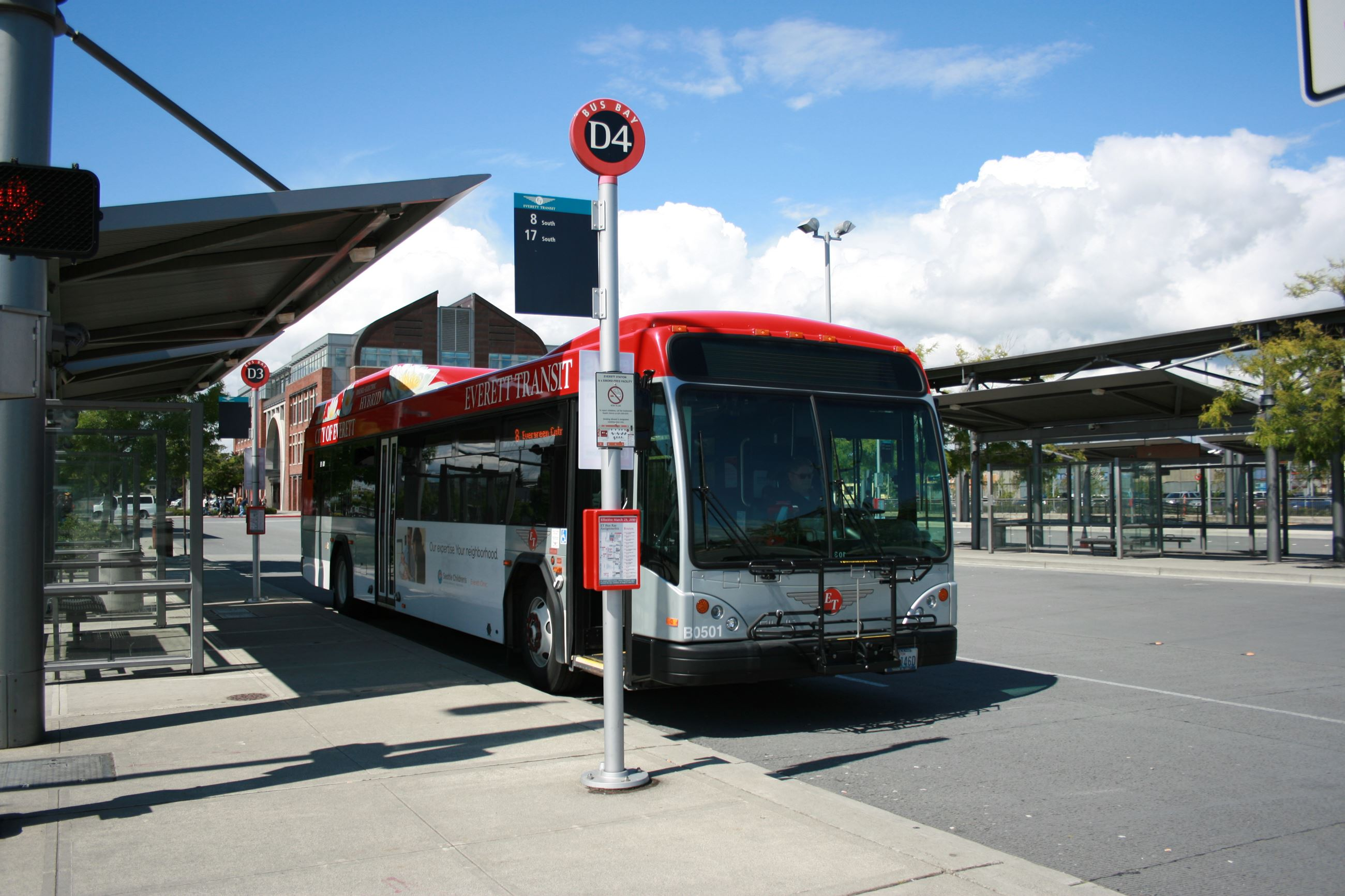 Everett Transit bus