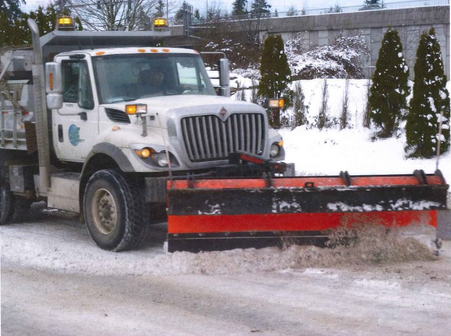 City of Everett snow plow