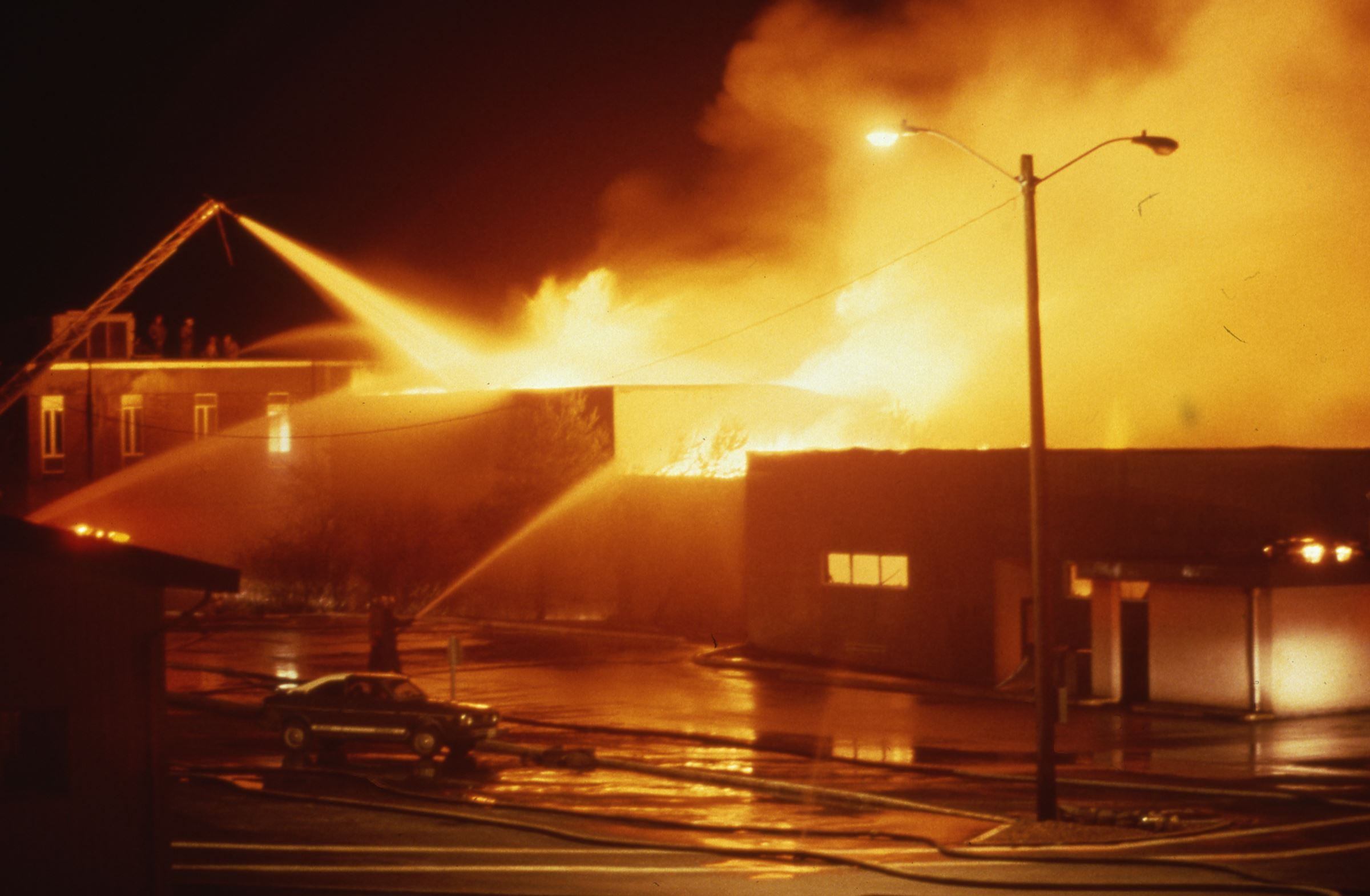 1987 fire at Everett Community College