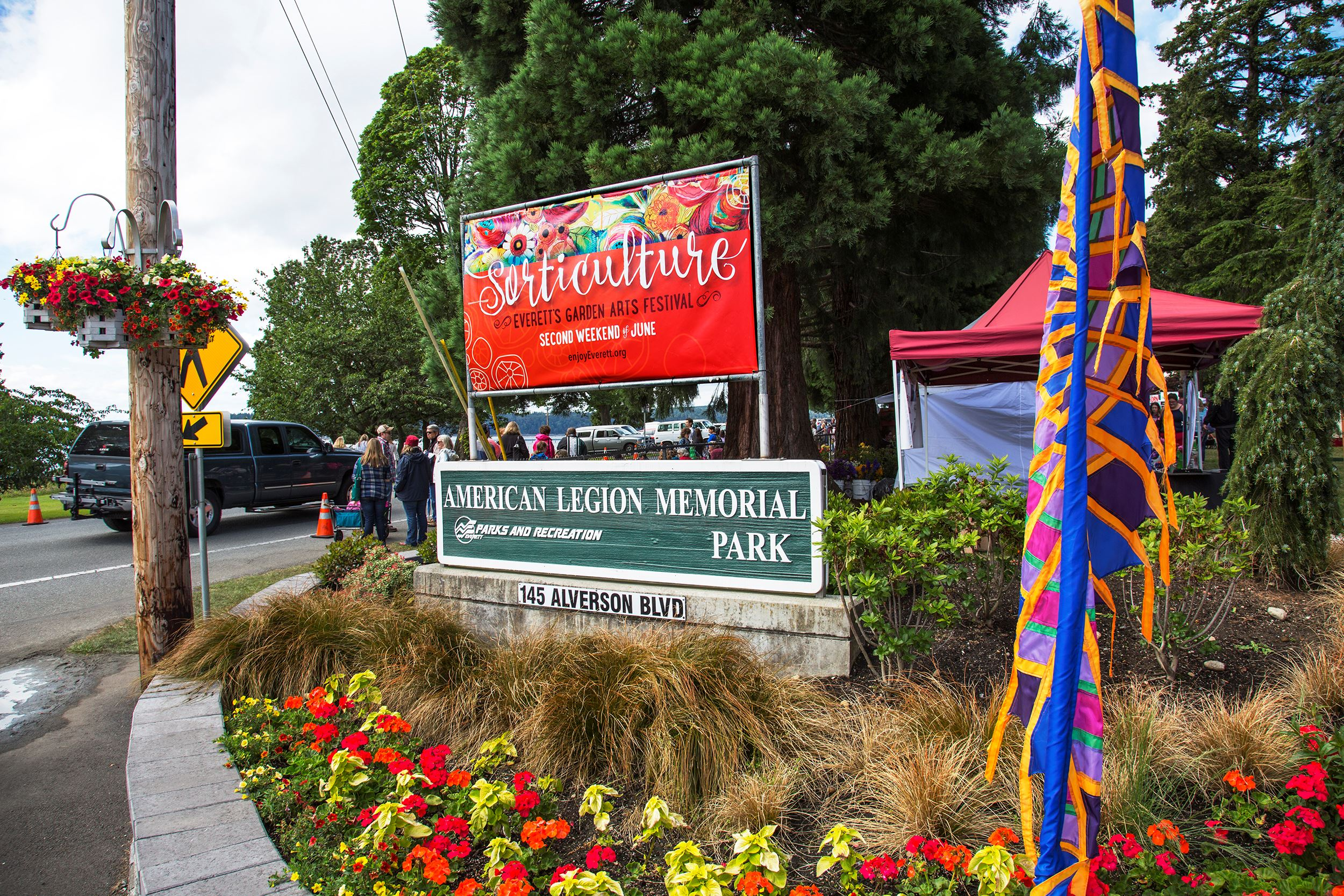 Sorticulture 2016 Entrance Signs