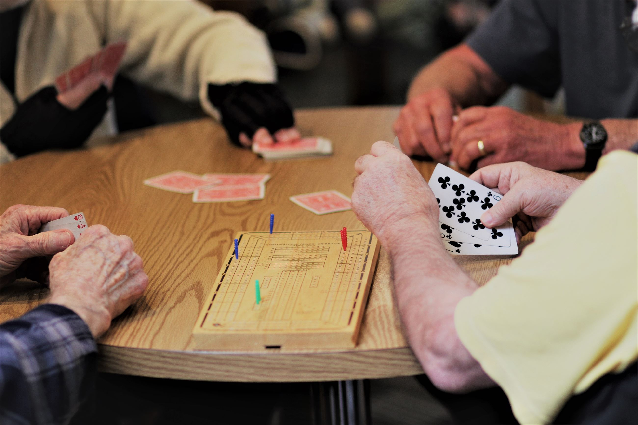 Join us at the Carl Gipson Senior Center for Cribbage