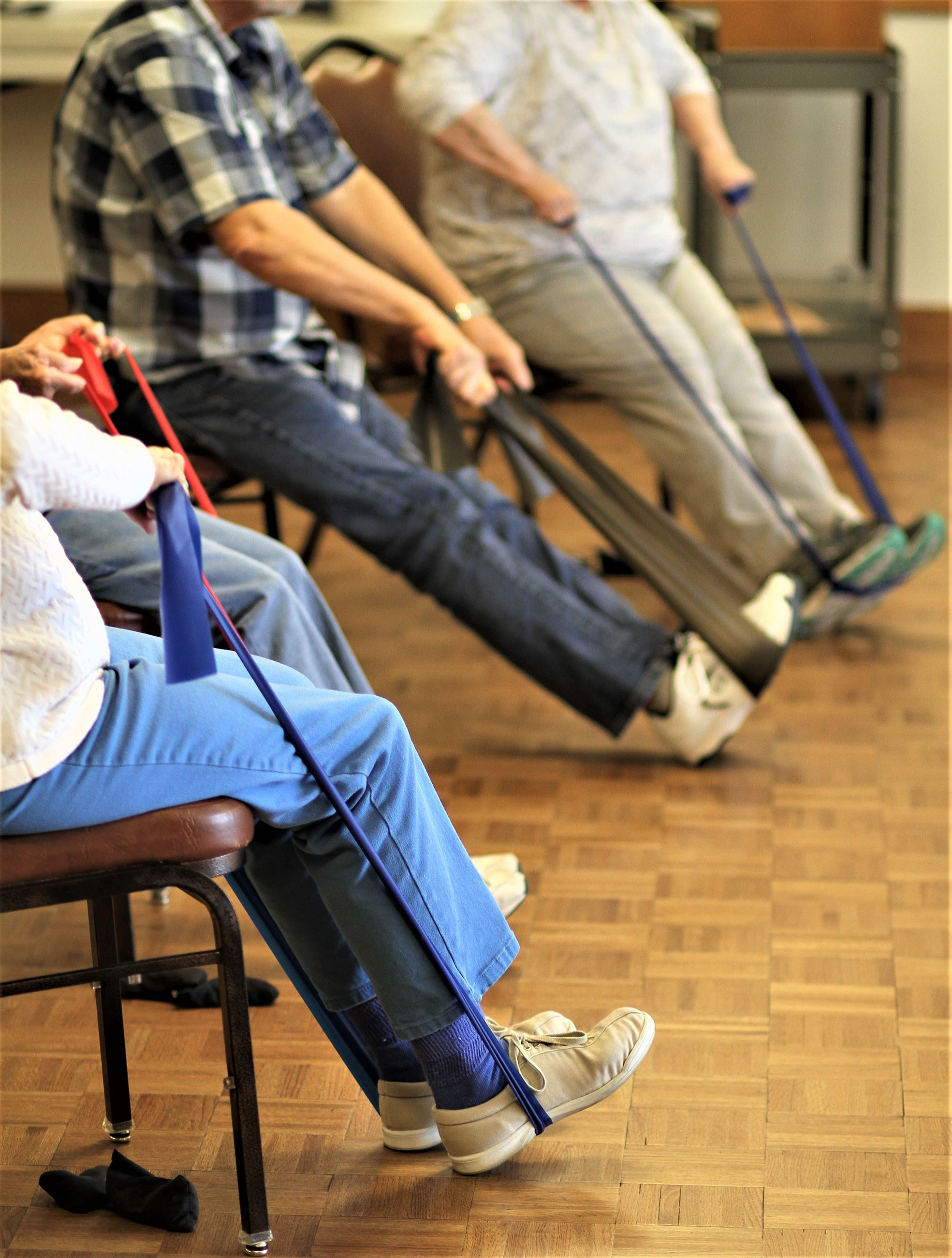 Stretch-n-Tone classes are available at the Carl Gipson Senior Center