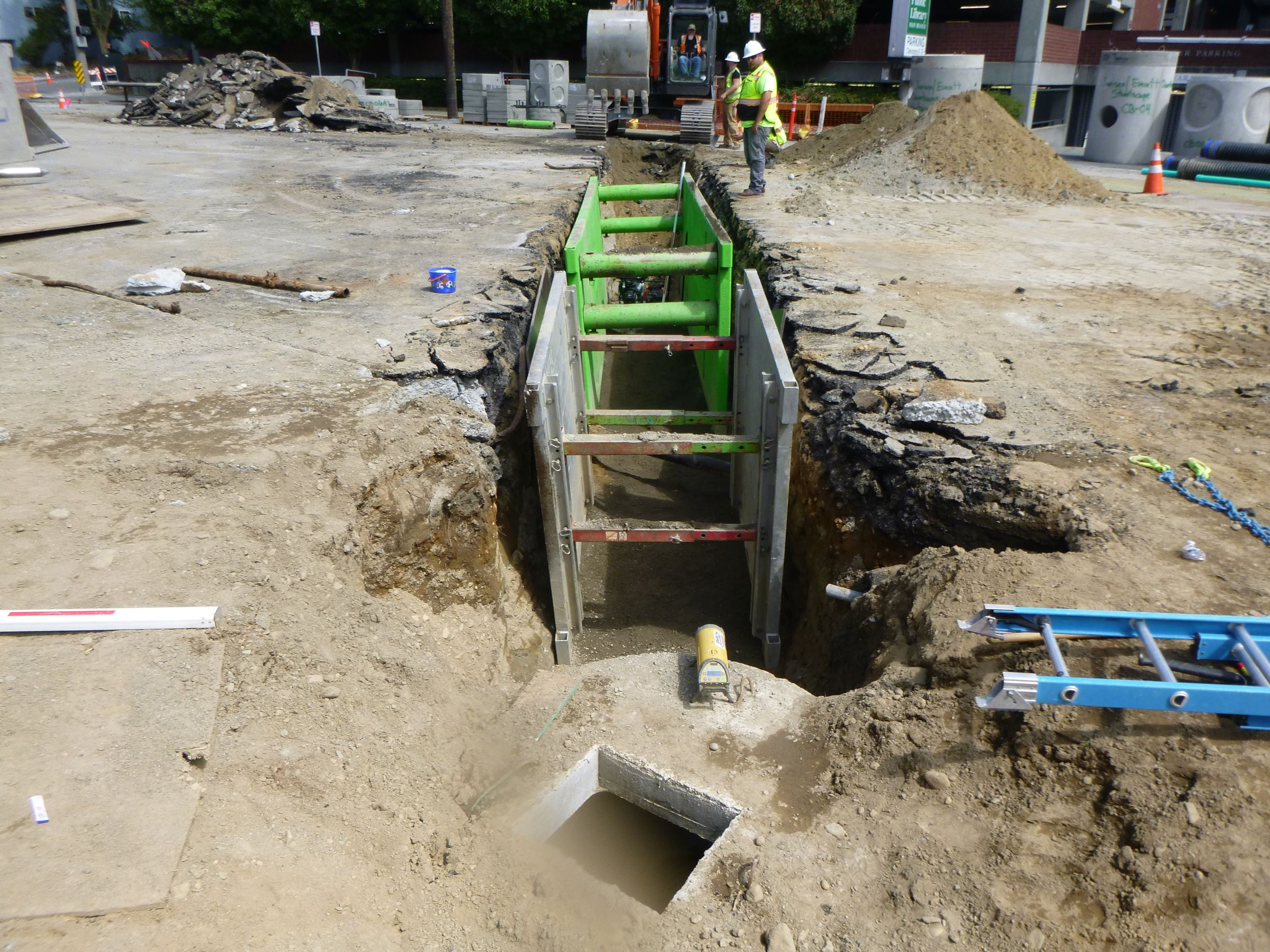 Rucker Drainage work