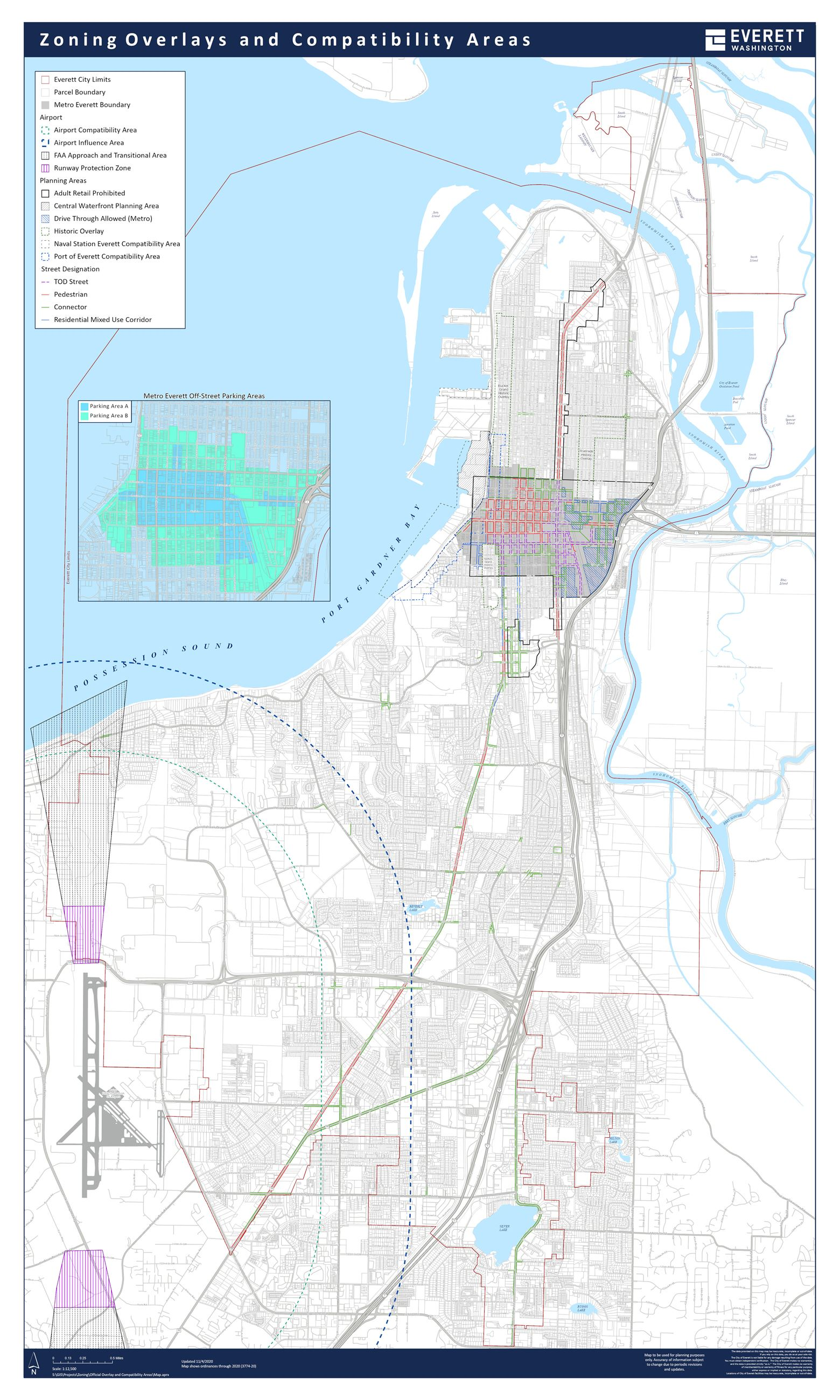 Zoning Overlay and Compatibiliy Areas
