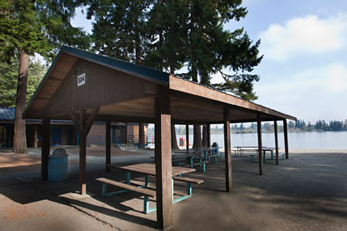 Silver Lake Beach Shelter